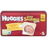Huggies Little Snugglers Diapers, Newborn, Pack/32 by Huggies