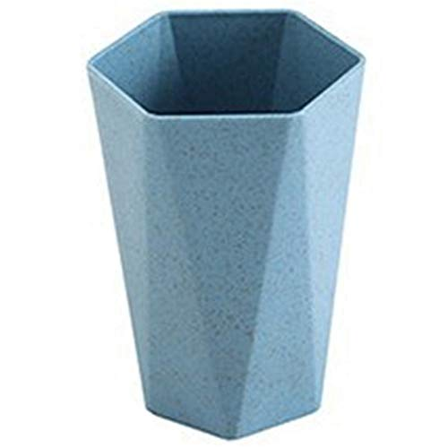 SUPERBING Nordic Green Straw Green Plastic Cup Plastic Cup Holder Washing Brush Washing Cup Blue Drinker