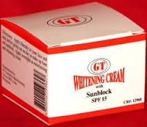 GT COSMETICS PHILIPPINES WHITENING CREAM WITH SPF 15 15 GRAMS (Best Whitening Cream Philippines)