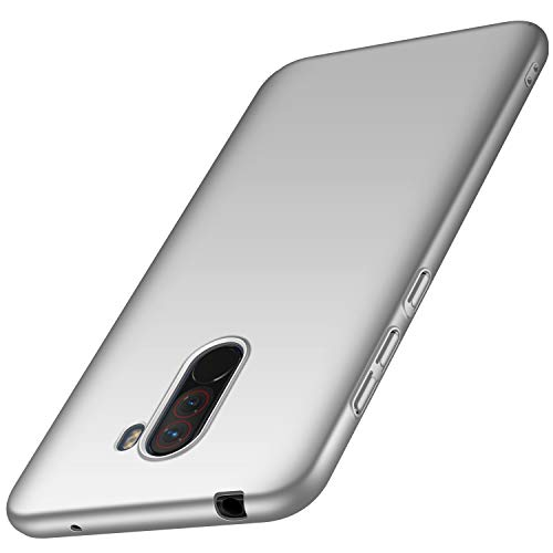 Anccer Compatible for Xiaomi Pocophone F1 Case [Colorful Series]  [Ultra-Thin Fit] Premium Material Slim Cover for Xiaomi Pocophone F1  (Silver)