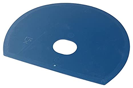 Maya 71915 - Espátula Flexible Redonda, Metal Detectable y Rayos X, con Agujero, 160 x 125 x 1,65 mm, Azul: Amazon.es: Industria, empresas y ciencia