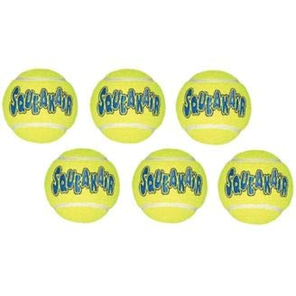 Air Kong Medium Squeaker Tennis Ball 6/Pack (16 Pack)