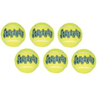 Air Kong Medium Squeaker Tennis Ball 6/Pack (2 Pack) by KONG Toys (Image #1)