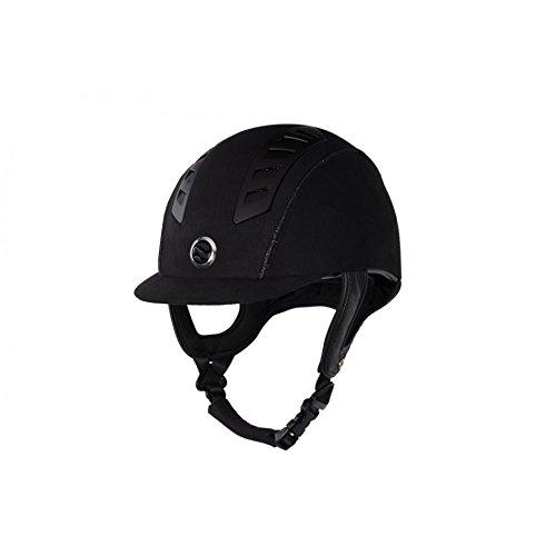 Trauma Void EQ3 Microfiber Helmet 6 7/8in Black (Suede Helmet)