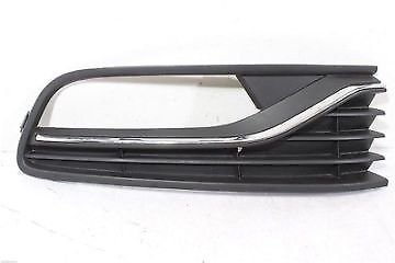 Trade Vehicle Parts VK4221 Front Bumper Fog Grille With Chrome Moulding Driver Side