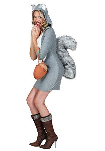 Sexy Squirrel Costume Small Gray]()