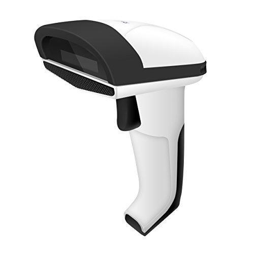 Rhorawill Handheld Red Light CCD Barcode Scanner|500 Times/Sec USB 1D Bar Code Reader For Mobile Payments|Drop Resistant With Rubber Bezel Protection|Ergonomic&User Friendly Design|Easy Configuration from Rhorawill