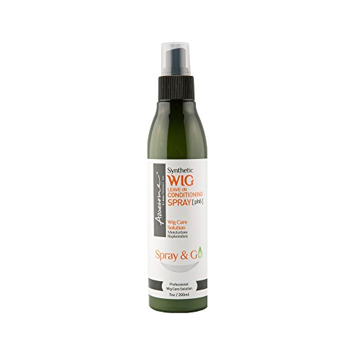 Wig Spray - Awesome Synthetic Wig Leave-in Conditioning Spray [pH6] Spray & Go 7 Fl Oz