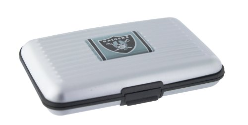 Oakland Raiders Card Holder (NFL Oakland Raiders Aluminum Wallet)