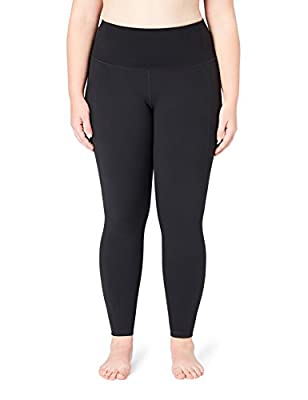 Core 10 Women's 'Build Your Own' Yoga Pant Full-Length Legging (XS-XL, Plus Size 1X-3X)