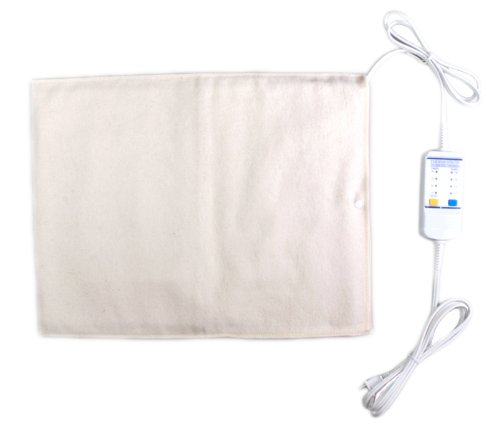 Thermotech Automatic Digital Moist Heating Pad Heating Pad, Beige, Medium (18'' x 14'') by Thermotech