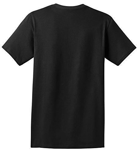Mens Full Button Sleeveless Jersey (Hanes TAGLESS 6.1 Short Sleeve T-Shirt w/ Pocket)
