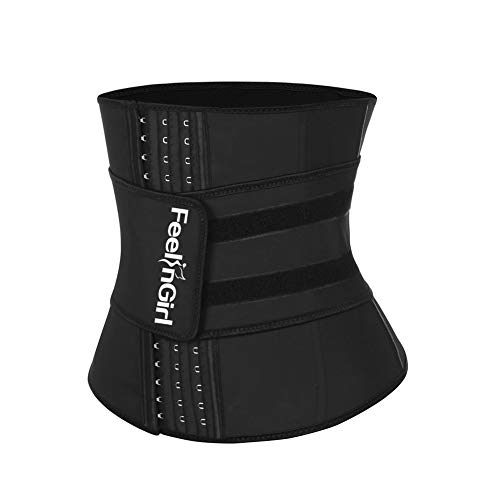 FeelinGirl Women's Latex Underbust Corset Waist Training for sale  Delivered anywhere in USA
