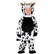 Fun World Cuddly Cow Toddler Costume, One Size, Multicolor ()