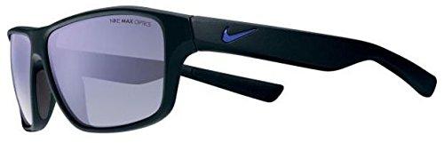 Nike EV0791-308 Gafas de sol Premier 6.0 R (tama?o ¨²nico), carga mate de color caqui / flash de cobre, gris con lente de flash naranja Ml Negro