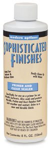 Triangle Coatings Sophisticated Finishes Primer and Clear Sealer 8 oz.