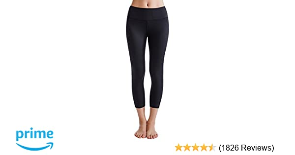 faa1c4d3de Amazon.com  Oalka Women s Yoga Capris Power Flex Running Pants Workout  Leggings  Clothing