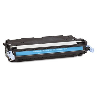 Q7561A Premium Compatible Toner Cartridge, 3500 Page-Yield, - Q7561a Print Cyan