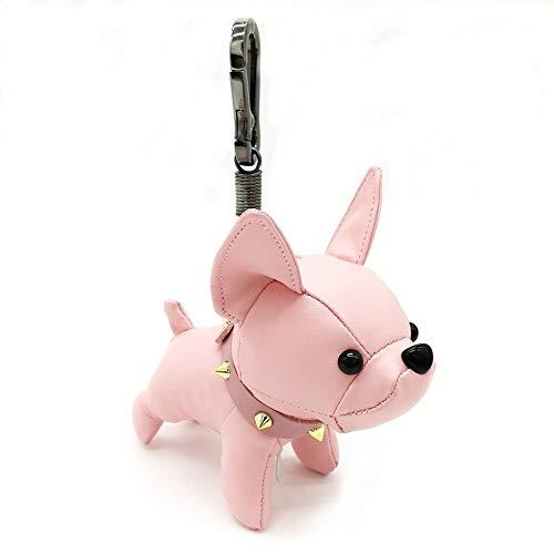 Amazon.com: Llavero hecho a mano con diseño de bulldog ...