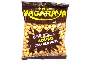 nagaraya cracker nuts (adobo flavor) - 5.64oz [12 units] (731126102162)