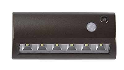 LIGHT IT! by Fulcrum 20032-307 Fulcrum Path Light, 6 Led Lamp, 48 Lumens, 100000 Hr, Single Pack, Bronze
