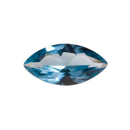 WireJewelry 14x7mm Marquise Blue Zircon Cz - Pack Of 1
