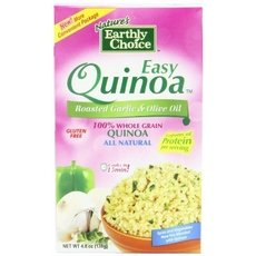 Nature's Earthly Choice All Natural Easy Quinoa, Roasted Garlic And Olive Oil 2 by NATURES EARTHLY CHOICE