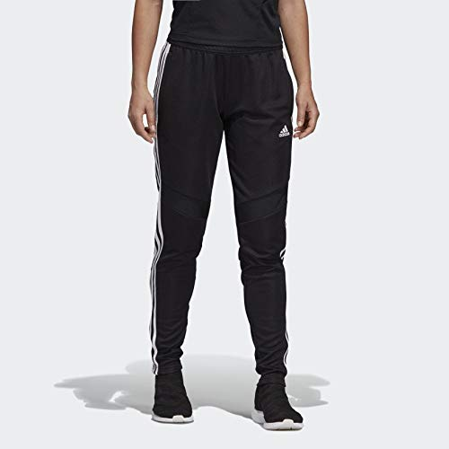 adidas Women's Soccer Tiro 19 Training Pant, Black/White, ()