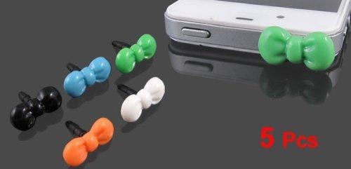 Amazon.com: eDealMax 5 piezas de arco DE 3,5 mm Anti del auricular del polvo del casquillo del oído del tapón: Electronics