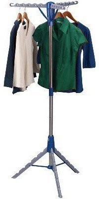 Multi Hanger Pop Up & Collapsible Indoor Tripod-Style Clothes Dryer