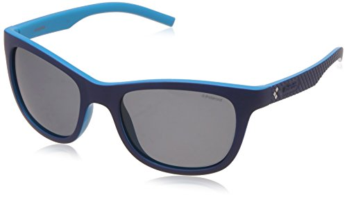 Grey Polaroid Azure Sonnenbrille Bluette PLD Sports Pz 7008 S Azul q6Zgvq8H
