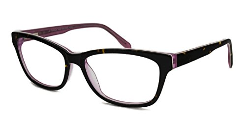 V Optique Reading Glasses - Audrey Tortoise + Crystal Pink - Crystal Audrey