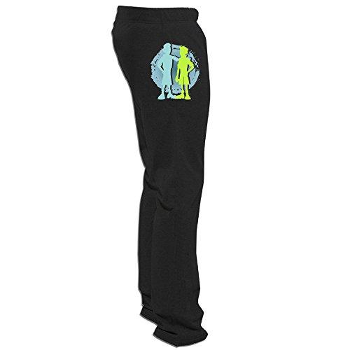 Zoena Geek Wild Kratts Pants for Men Black Size XXL