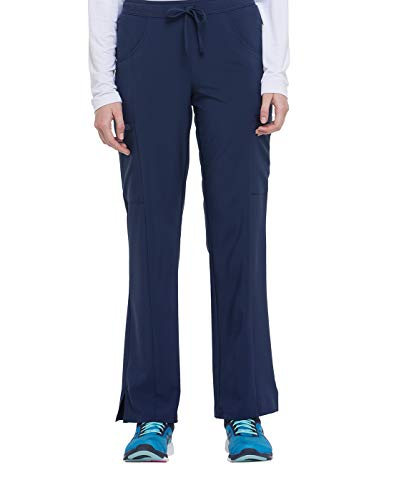 Women's EDS Essentials Mid Rise Straight Leg Drawstring Scrub Pants