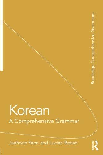 Korean (Routledge Comprehensive Grammars)