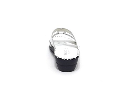 Susimoda chaussure modèle pantofola 1572 femme Cuir Couleur : Blanc