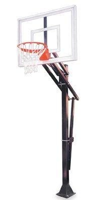 最初チームSlam iii-bp steel-acrylic in ground調整可能バスケットボールsystem44、ロイヤルブルー   B01HC0DCJ6