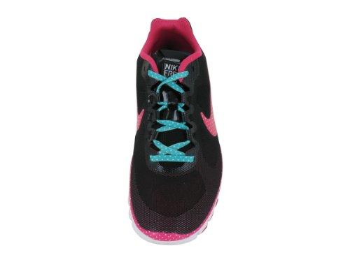 Womens Nike Free Vantaggio Maglia Caffetteria Scarpa Da Allenamento Nero / Turchese / Cremisi / Rosa Nero