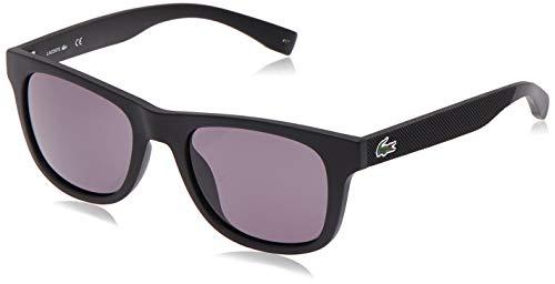 Lacoste Unisex L790S Rectangular Sunglasses, Matte Black, 52 mm (Sunglasses Lacoste Black)