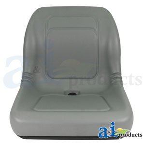 A&I Universal Vinyl Bucket Seat - Gray, Model Number LGT100GR