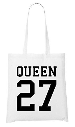 Queen Bag 27 Bag White Queen White Bag Queen Queen 27 White 27 27 rrxCT