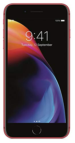 (Apple iPhone 8 64GB GSM Unlocked Smartphone, RED (Renewed))