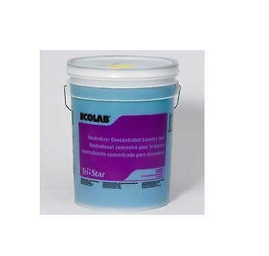 Ecolab 12083 Tri‑star Laundry Sour Neutralizer 5 Gallons by Ecolab