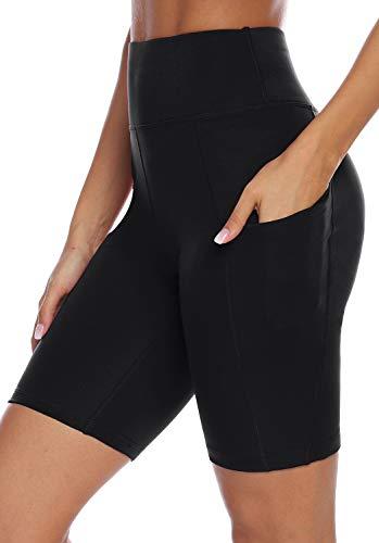 AUU Printed Women Yoga Leggings High Waist Tummy Control Over The Heel Yoga Pants - Mesh Capri Shorts