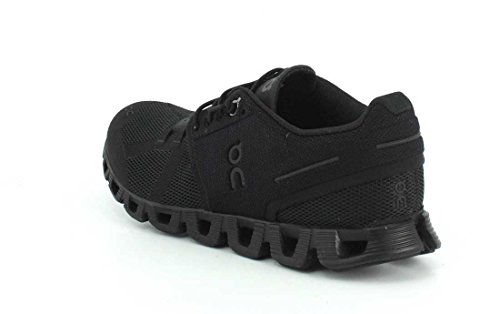 ON Cloud Road Running Shoes Olive/Flame Mens All Black