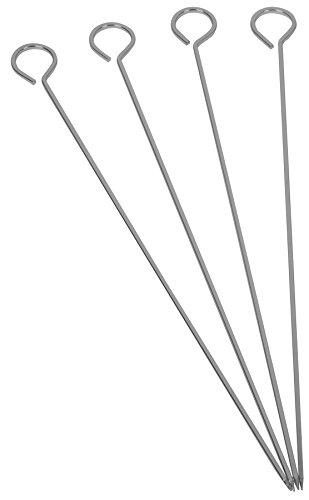 Ekco Metal - Ekco 1058692 4 Count Metal Skewers