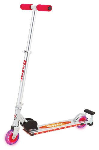 Razor Spark 2.0 Kick Scooter, Red