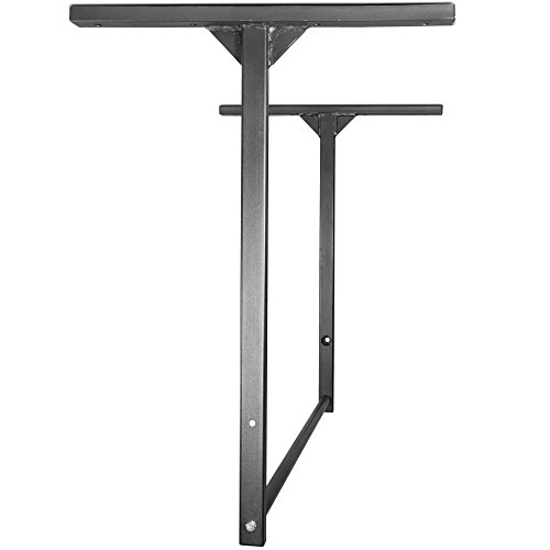 Titan Fitness Large Stud Mounted Pull Up Chin Up Bars Wall or Ceiling Mount WOD