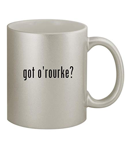 got o'rourke? - 11oz Silver Sturdy Ceramic Coffee Cup Mug
