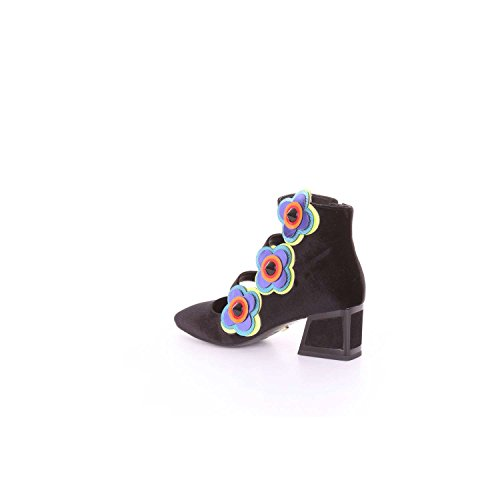 de UNA Negro MACONIE tacón Mujer Zapatos KAT 5tqWf46